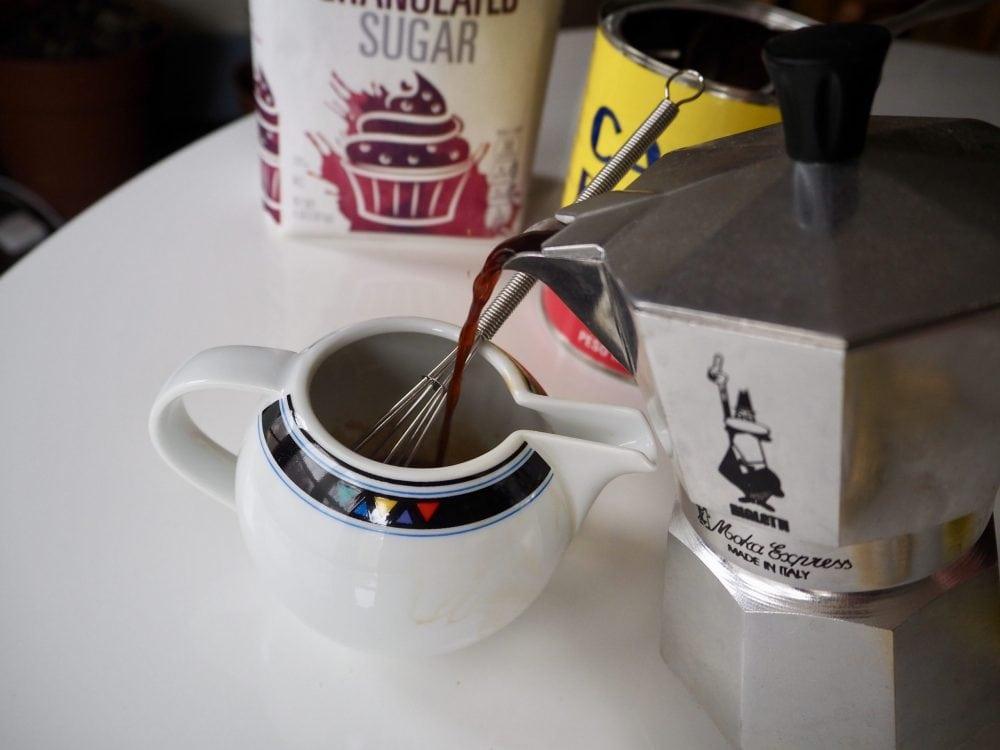 Make the espuma