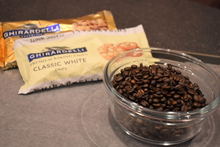 Making chocolate-covered espresso beans