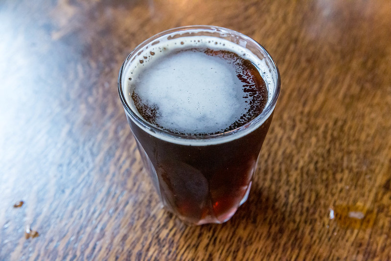 Nitro coffee cold brew