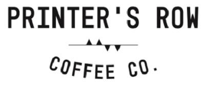 Printer's Row Coffee Shop