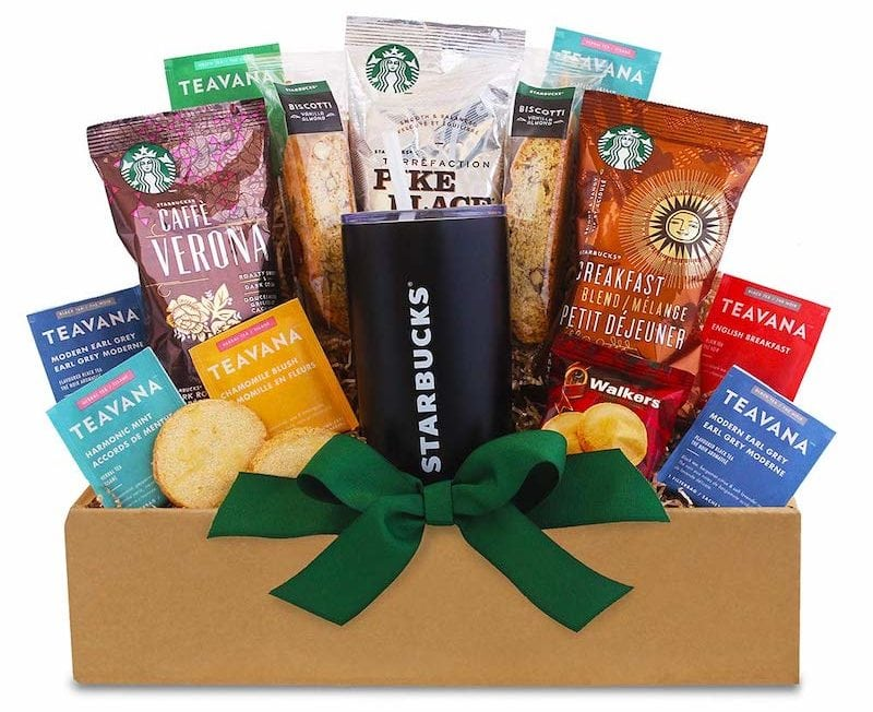 Starbucks California Daybreak gift basket