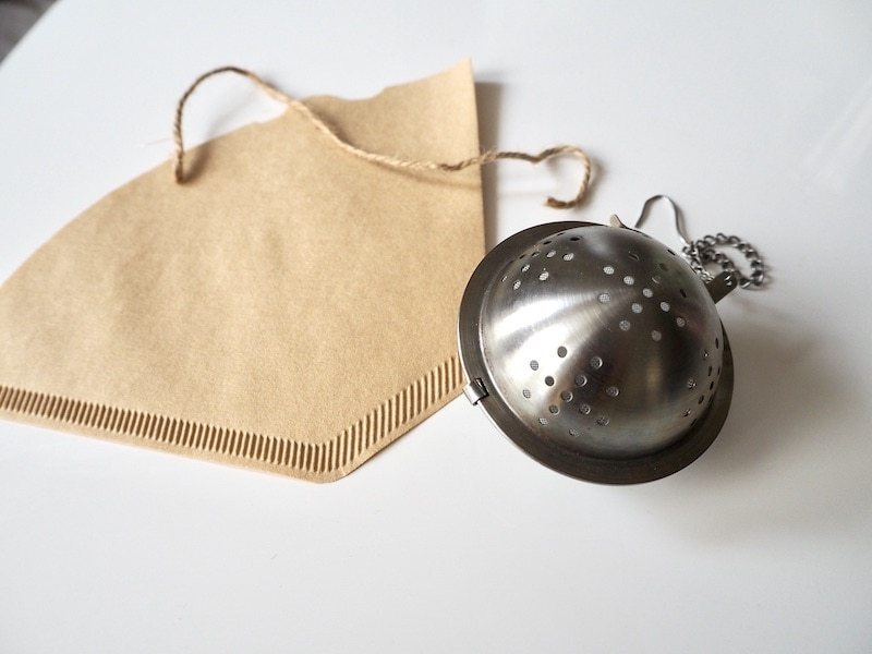 tea infuser ball for milk frothing