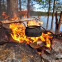 قهوه گاوچران در آتش