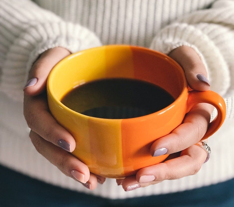 how to switch to black coffee