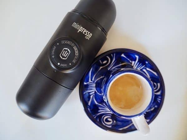 Wacaco Minipresso espresso shot