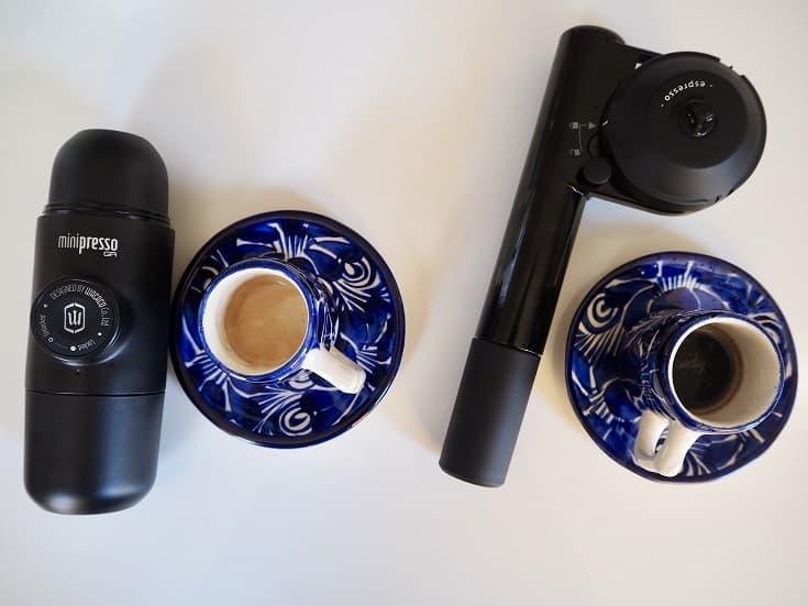 Minipresso vs. Handpresso