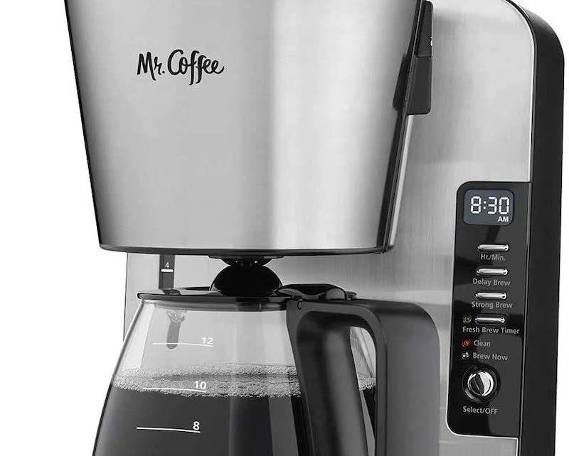 Mr. Coffee clean light always on