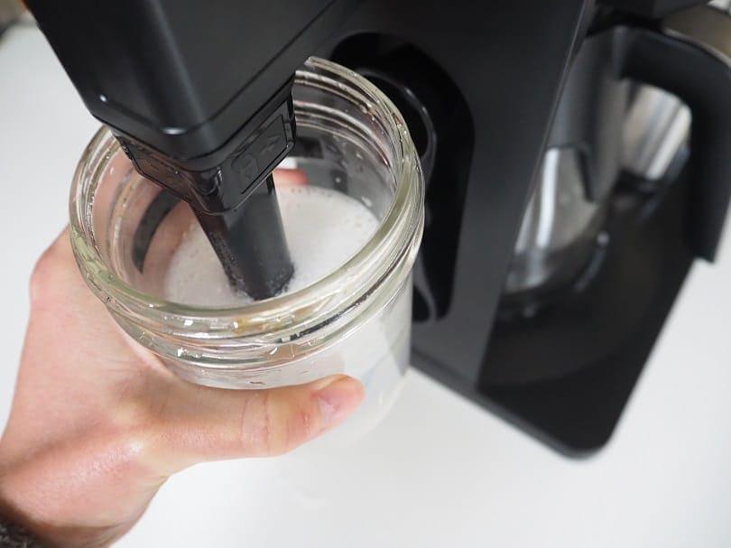 Ninja Coffee Bar milk frother