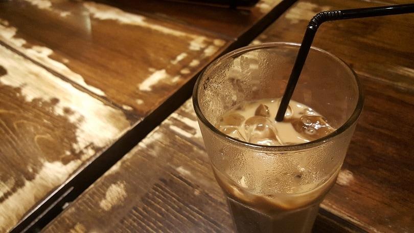 Iced Dirty Chai