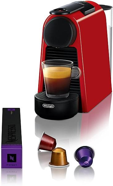 Nespresso Essenza Mini with capsule