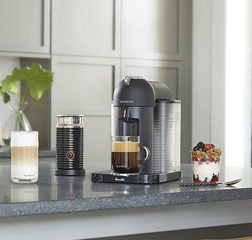 Nespresso Vertuo on table