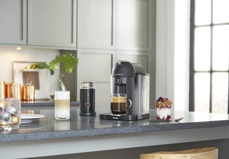 Nespresso Vertuo machine on counter