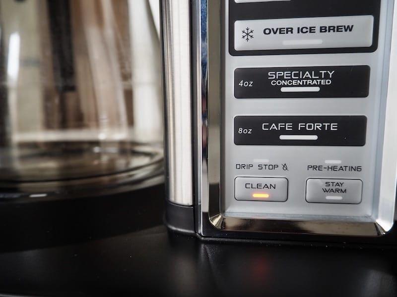 Ninja Coffee Bar clean light