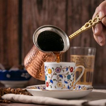 a Turkish Briki coffee pot