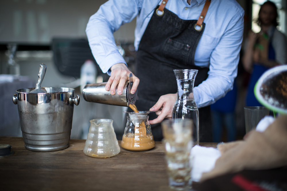 Barista coffee competition