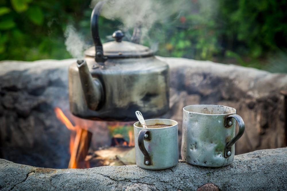 Norway camping coffee Kokekaffe