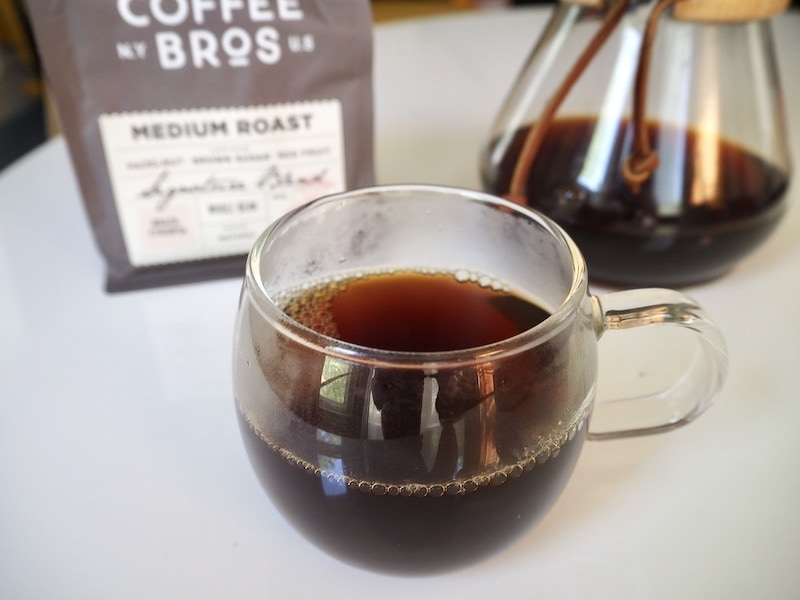 Coffee Bros. medium roast