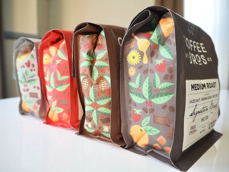 Coffee Bros. packaging