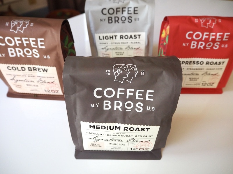 Coffee Bros. types of coffee