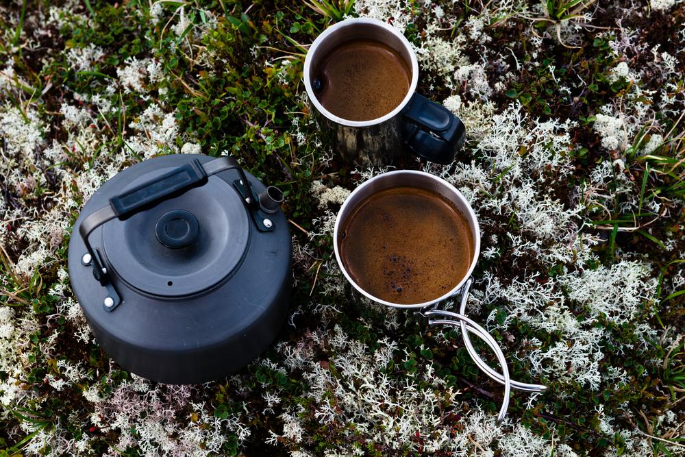 Coffee on Norway's tundra