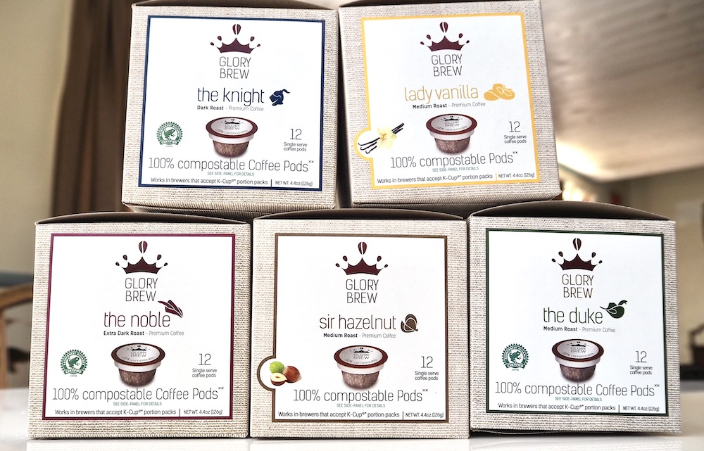 Gourmesso Glorybrew compostable K-Cups