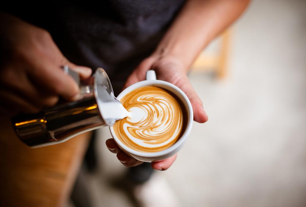 Latte art creativity
