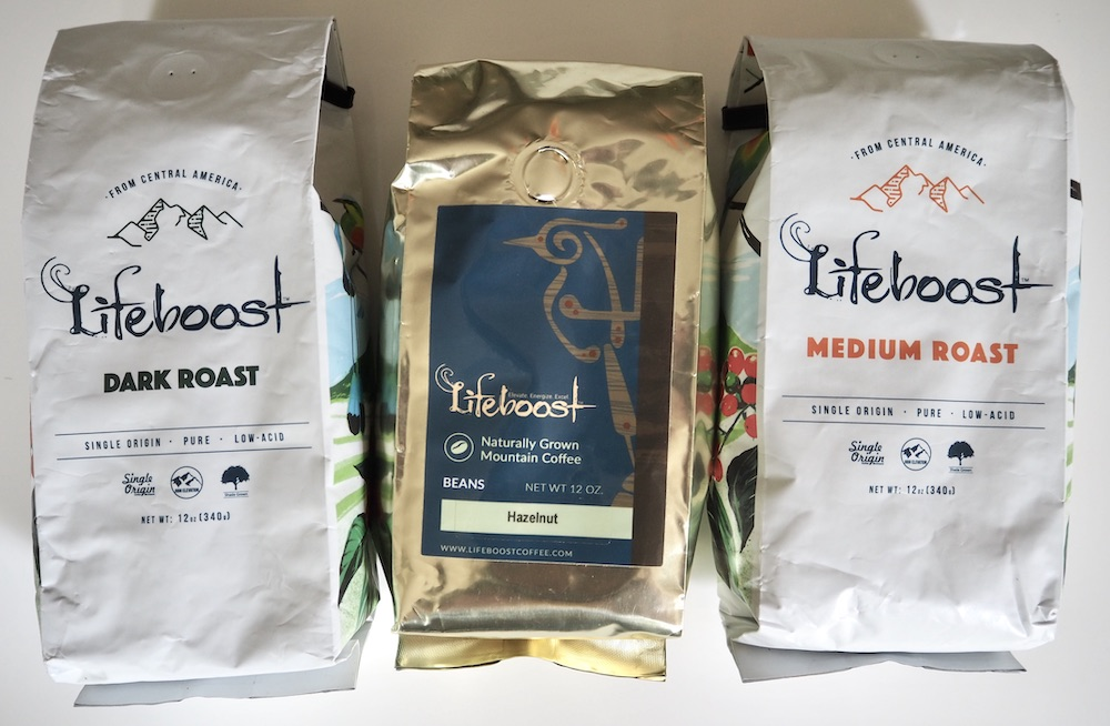 Lifeboost types of coffee