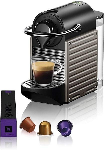 Nespresso Pixie with capsule