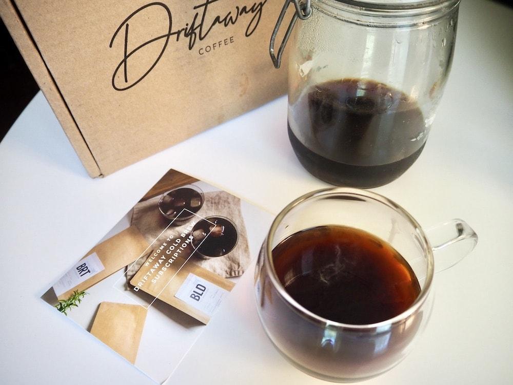 Driftaway cold brew coffee
