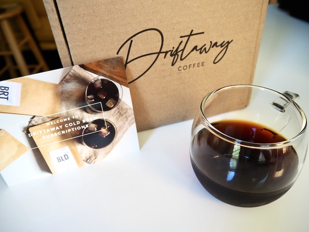 Driftaway cold brew subscription review