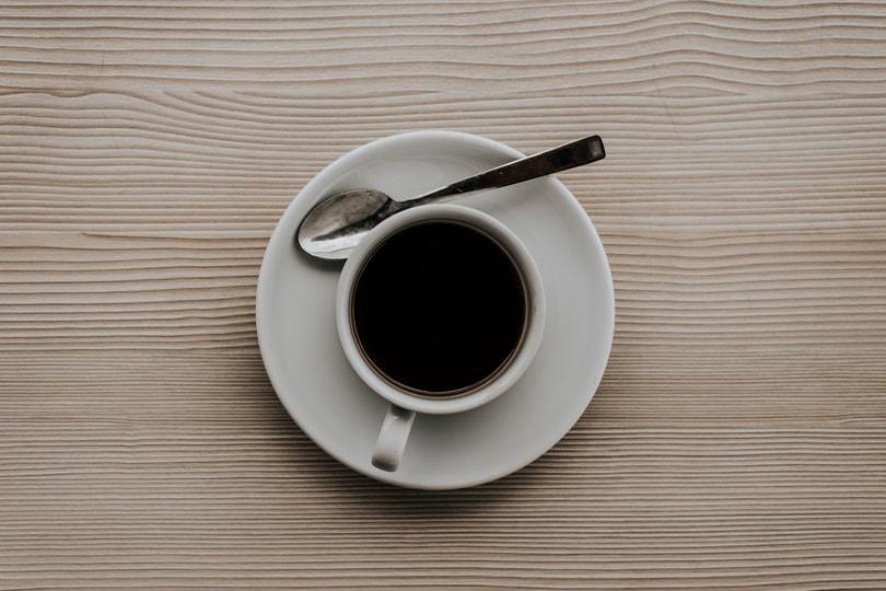Black Coffee flatlay