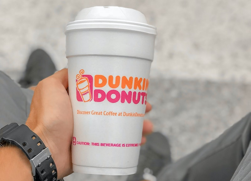 Dunkin Donuts coffee calories
