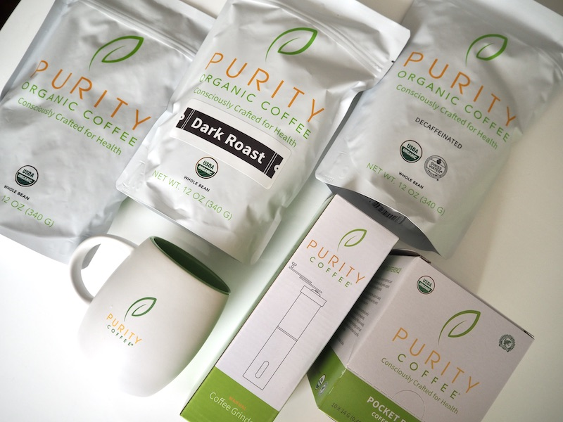 Purity Coffee starter kit what's in the box