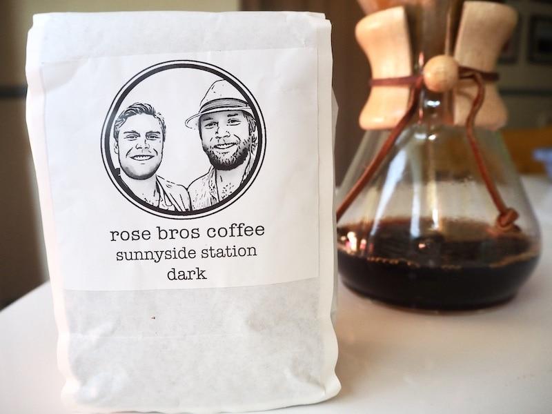 Rose Bros Sunnyside Station dark roast coffee review