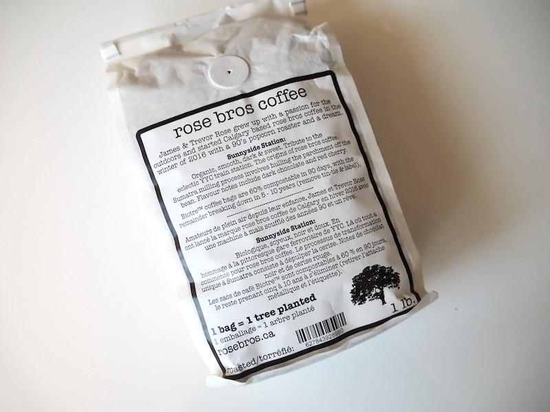 Rose Bros. Coffee Sunnyside Station coffee bag