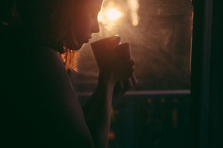 Sad coffee time