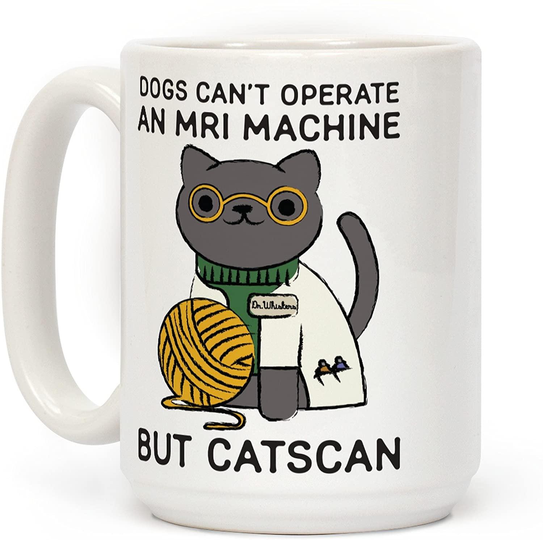 Catscan coffee mug