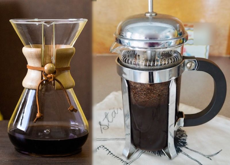 Chemex vs French press