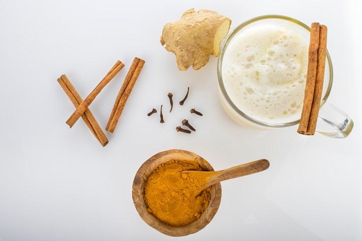Ginger Cinnamon Latte