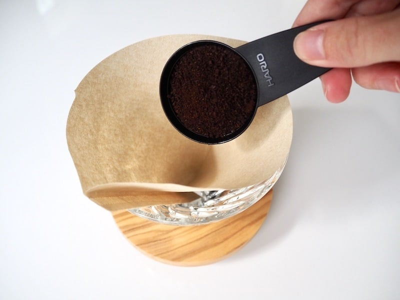 Hario V60 coffee scoop