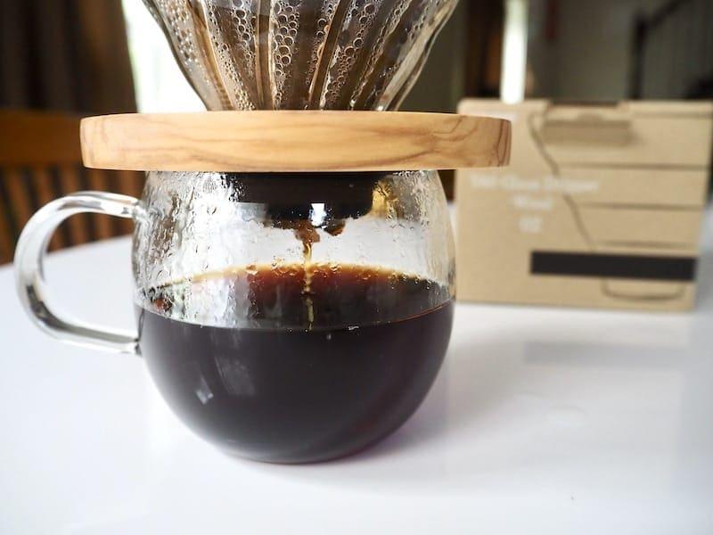 Hario V60 coffee taste test