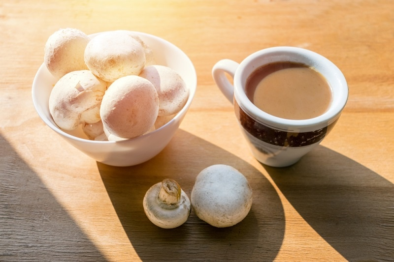 Mushroom Latte Coffee with Milk and Espresso_alp aksoy_shutterstock