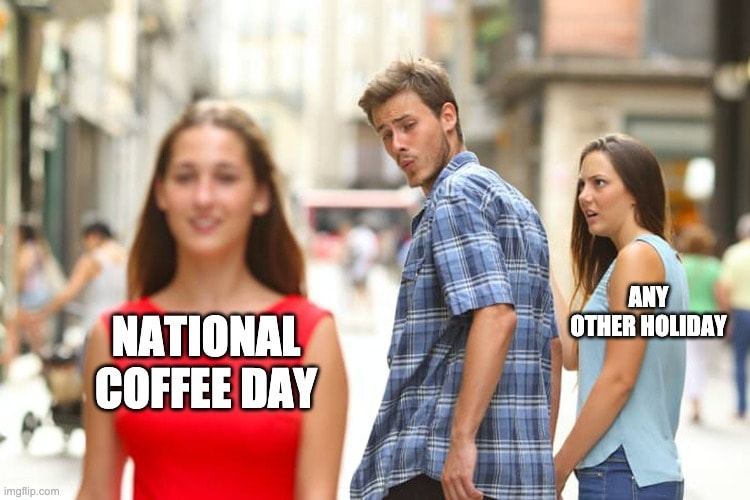 National Coffee Day memes