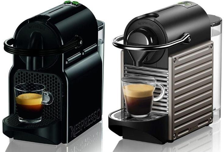 Nespresso Inissia vs Nespresso Pixie
