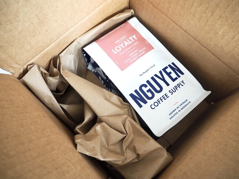 Nguyen Coffee Supply unboxing