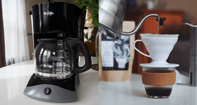 Pour Over vs Drip Coffee Brewing Methods