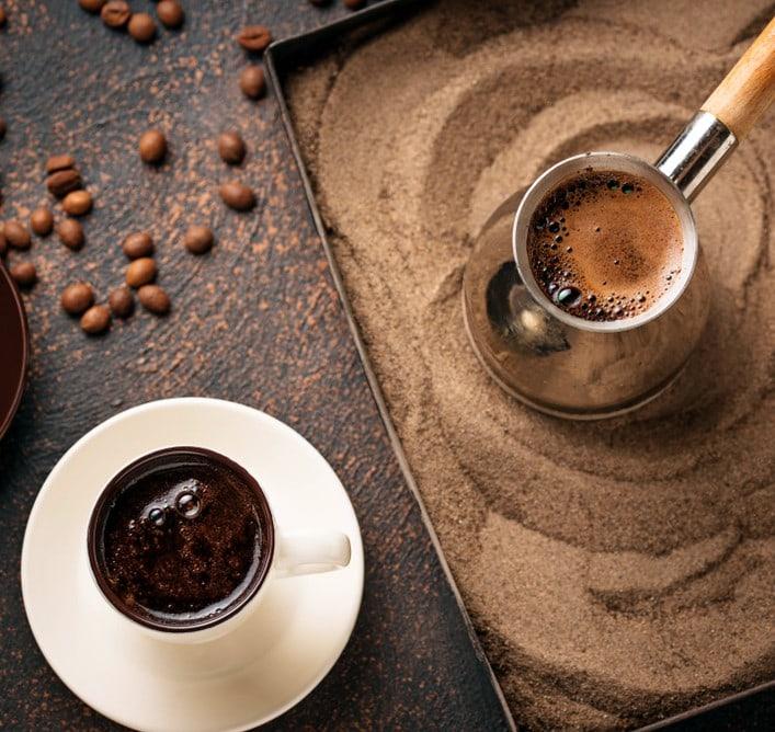 best Turkish coffee sand