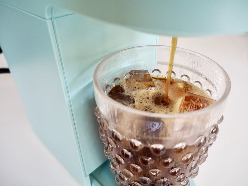 brew Keurig onto ice
