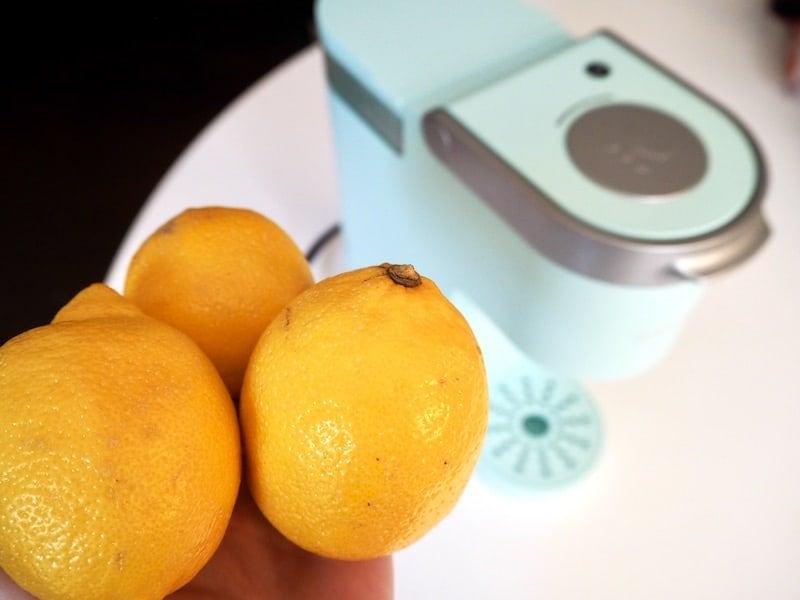 citric acid from lemons clean Keurig