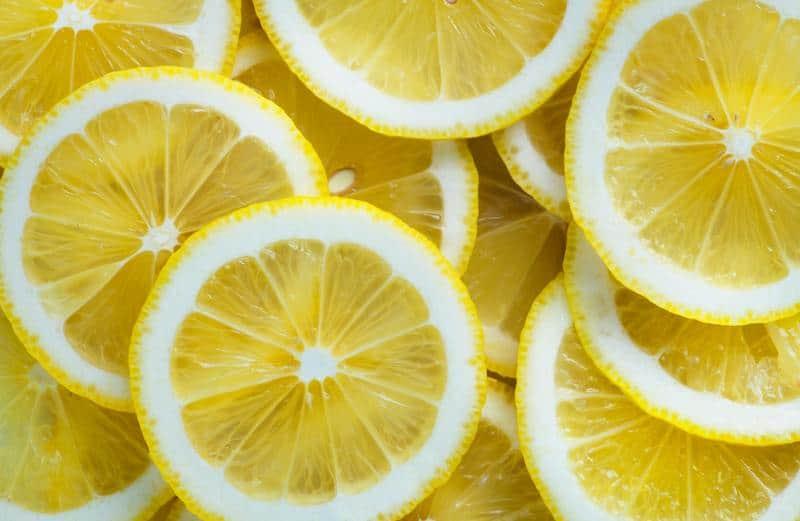 citric acid lemons